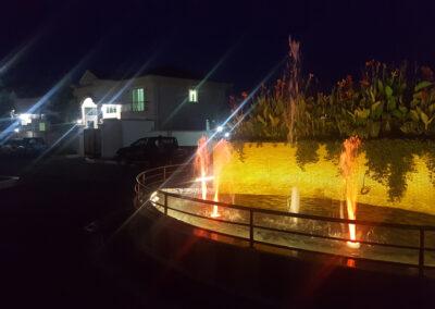 Fountain inside Sunrise Real Estate