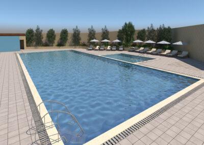 Swimming pool at Sunrise Real Estate